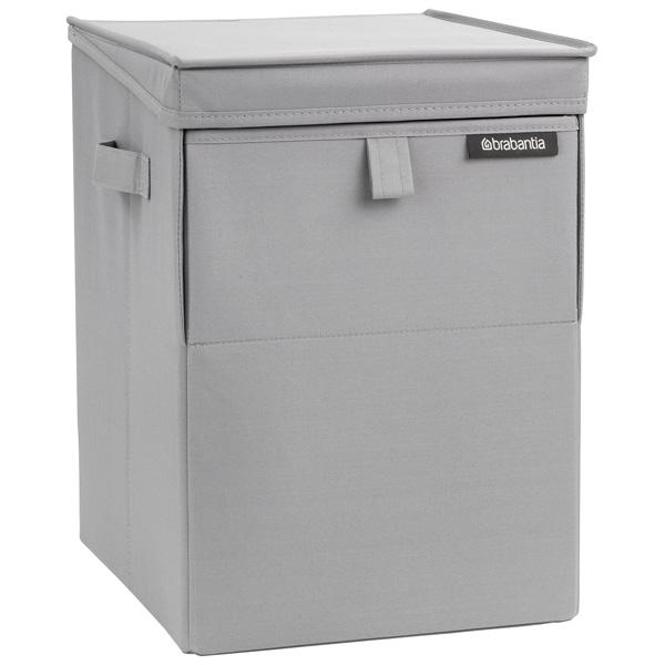 Корзина для белья Brabantia 109324 35л brabantia мусорный бак с педалью newicon 30 л 67 5х30х34 см серый металлик