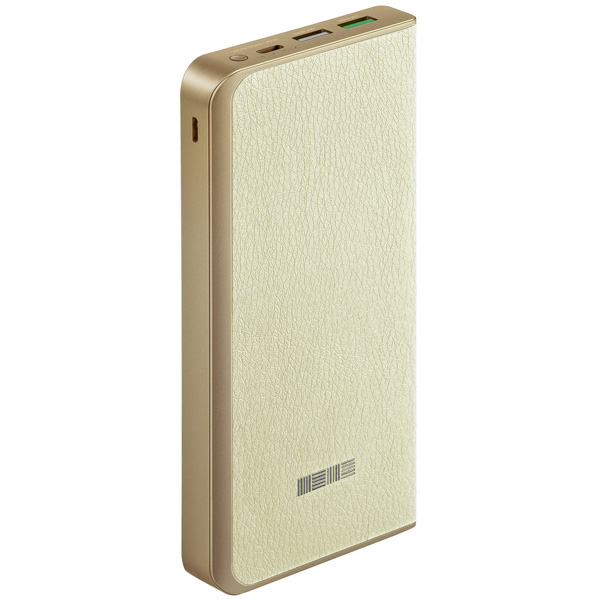 Внешний аккумулятор InterStep PB12000 Beige, 12000 mAh, QC3.0 Type-C DualIN zus qc