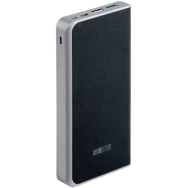 Внешний аккумулятор InterStep PB12000 Black, 12000 mAh, QC3.0 Type-C DualIN zus qc