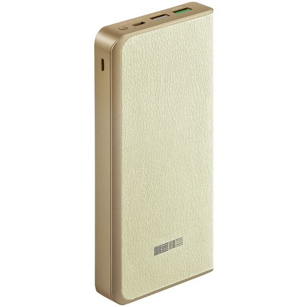 Внешний аккумулятор InterStep PB16000 Beige, 16000 mAh, QC3.0 Type-C DualIN