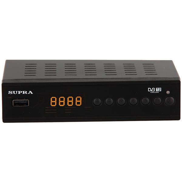 Приемник телевизионный DVB-T2 Supra