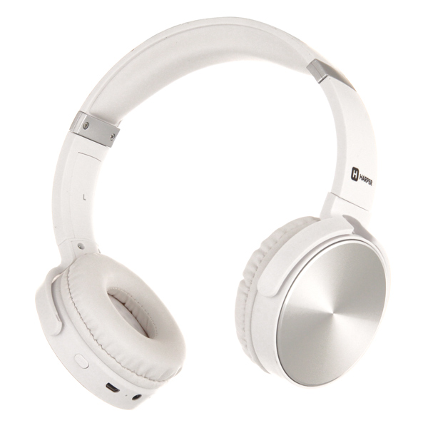 Наушники Bluetooth Harper HB-217 White