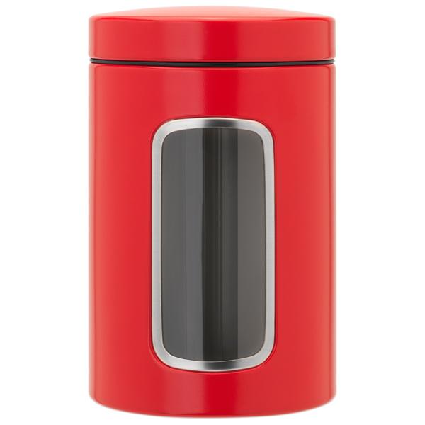 Контейнер для продуктов Brabantia 484063 Контейнер для сыпучих продуктов с окном 1,4 brabantia мусорный бак с педалью newicon 30 л 67 5х30х34 см серый металлик
