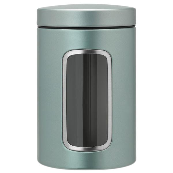 Контейнер для продуктов Brabantia 484360 Контейнер для сыпучих продуктов с окном 1,4 brabantia мусорный бак flipbin 30 л белый