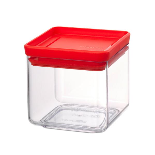 Контейнер для продуктов Brabantia 290008 Прямоугольный контейнер 0,7л brabantia мусорный бак с педалью newicon 30 л 67 5х30х34 см серый металлик