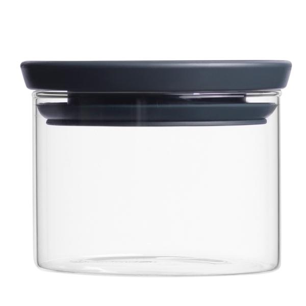 Контейнер для продуктов Brabantia 298301 Модульная стеклянная банка 0,3л brabantia мусорный бак с педалью newicon 30 л 67 5х30х34 см серый металлик
