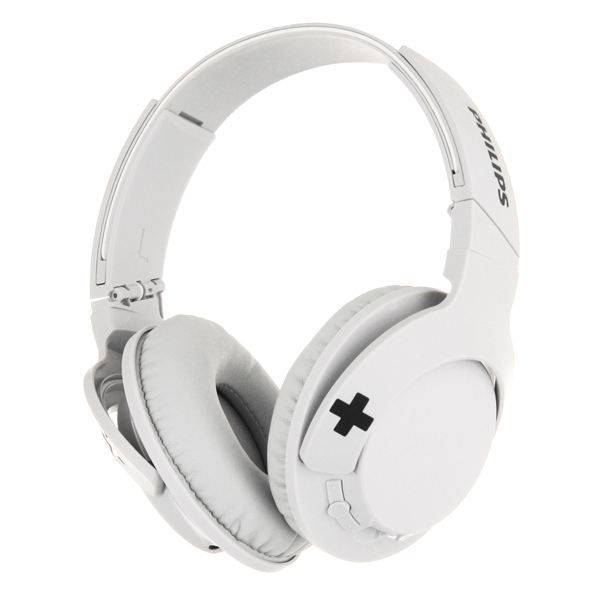 Наушники Bluetooth Philips Bass+ White (SHB3175WT/00)