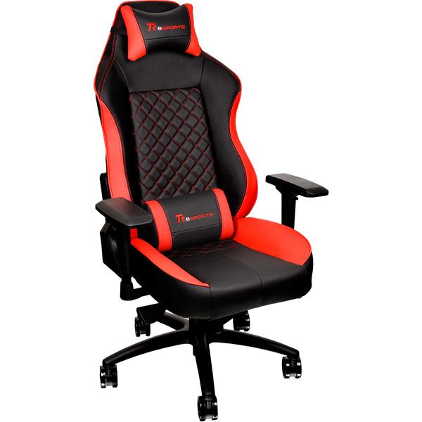 Кресло компьютерное игровое Thermaltake eSPORTS GT Comfort GTC 500 Bl/R(GC-GTC-BRLFDL-01) шины gt giti 165 65r14 79t comfort 220