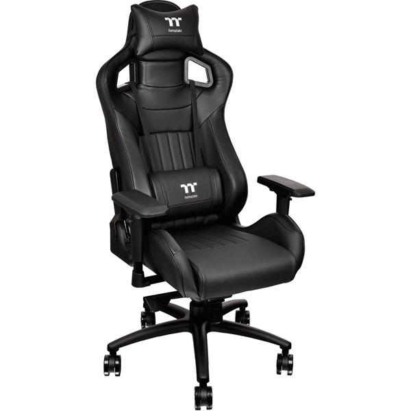 Кресло компьютерное игровое Thermaltake Premium X Fit XF 100 black(GC-XFS-BBMFDL-01) футболка wearcraft premium slim fit printio шварц