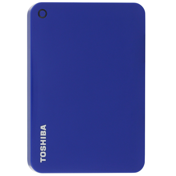Внешний жесткий диск 2.5 Toshiba Canvio Connect II 500GB Blue (HDTC805EL3AA) жесткий диск toshiba usb 3 0 3tb hdtc830ec3ca canvio connect ii 2 5 золотистый