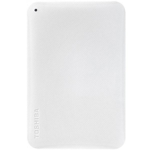 Внешний жесткий диск 2.5 Toshiba Canvio Ready 500GB White (HDTP205EW3AA) внешний жесткий диск 2 5 usb3 0 500gb toshiba canvio connect ii hdtc805ew3aa белый