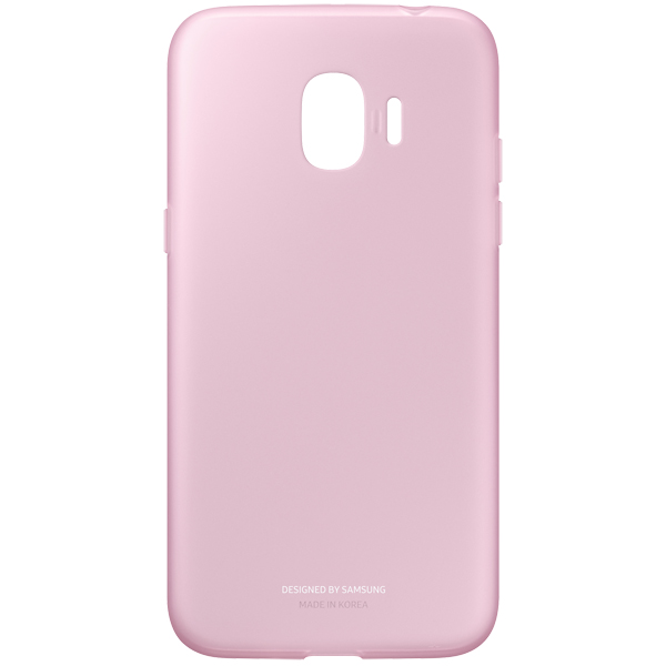 Чехол для сотового телефона Samsung Galaxy J2 (2018) Jelly Cover Pink чехол для сотового телефона takeit для samsung galaxy a3 2017 metal slim металлик
