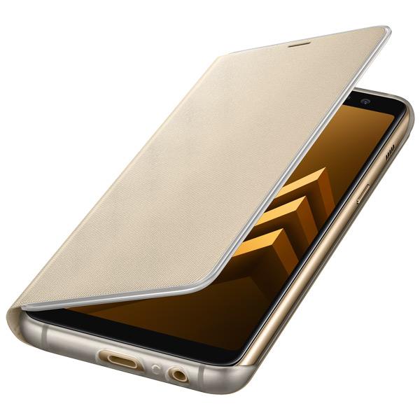 Чехол для сотового телефона Samsung Galaxy A8 (2018) Neon Flip Cover Gold