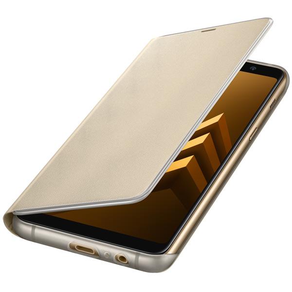 Чехол для сотового телефона Samsung Galaxy A8+ (2018) Neon Flip Cover Gold