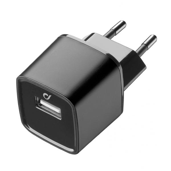 Сетевое зарядное устройство Cellular Line LAACHUSB2AK сетевое зарядное устройство cellular line achusbkitmicrousb2