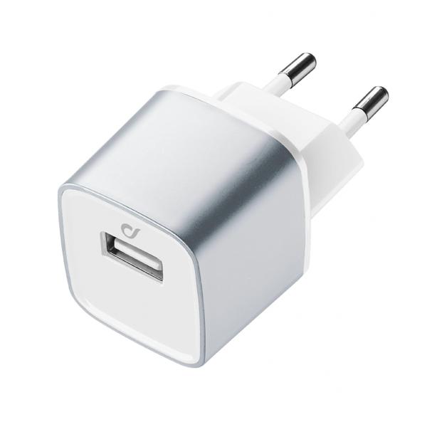 Сетевое зарядное устройство Cellular Line LAACHUSB2AS сетевое зарядное устройство cellular line achusbkitmicrousb2
