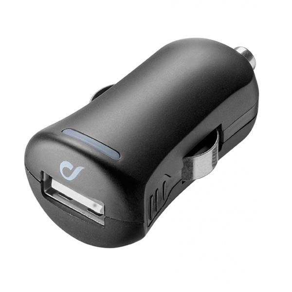Автомобильное зарядное устройство Cellular Line LACBRUSB2AK черного цвета