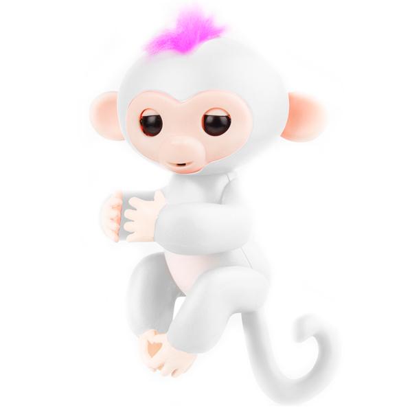 Интерактивная игрушка Rombica Finger Monkey WHITE интерактивная игрушка rombica finger monkey purple