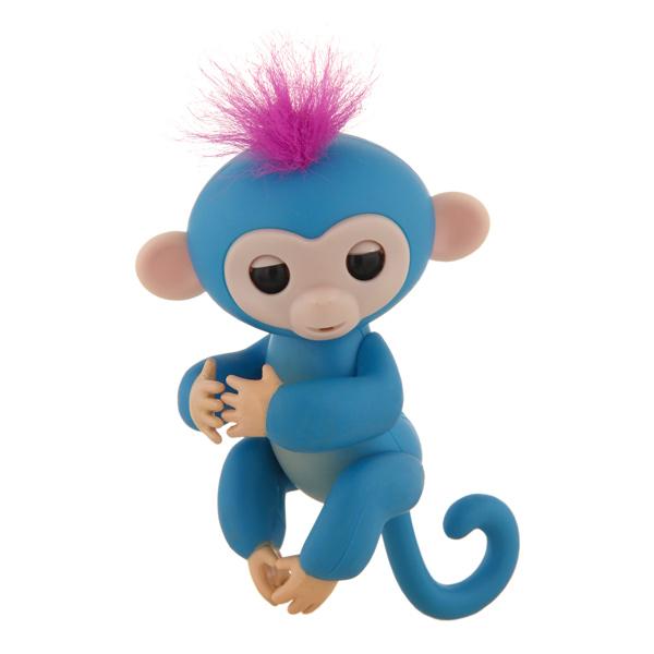 Интерактивная игрушка Rombica Finger Monkey Blue игрушка ecx ruckus gray blue ecx00013t1