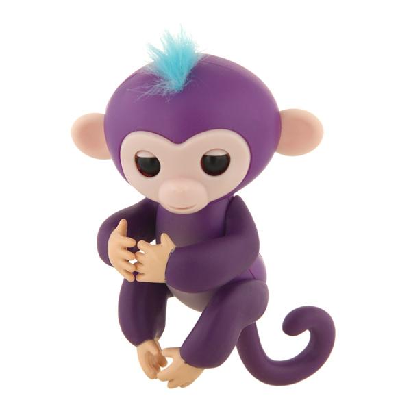 Интерактивная игрушка Rombica Finger Monkey Purple интерактивная игрушка rombica finger monkey purple