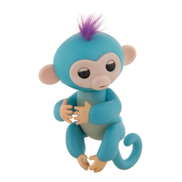 Интерактивная игрушка Rombica Finger Monkey Neptune интерактивная игрушка rombica finger monkey purple