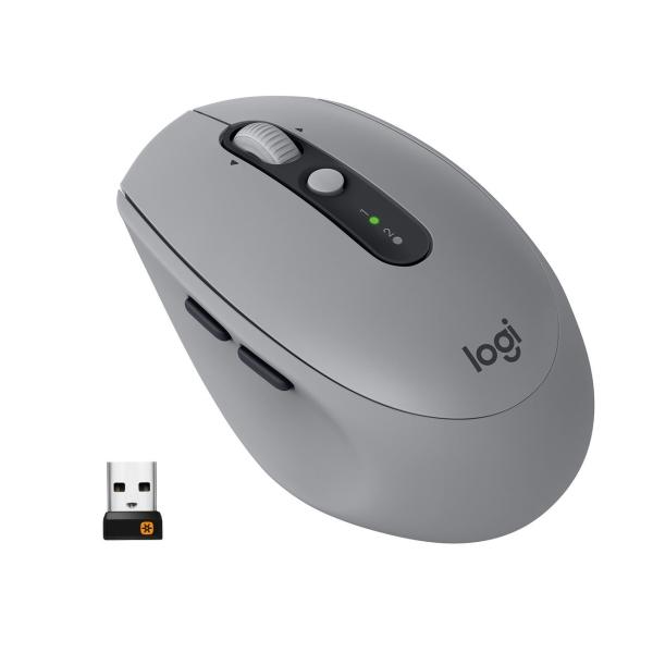 Мышь Bluetooth для ноутбука Logitech M590 (910-005198) мышь bluetooth для ноутбука logitech m590 910 005197