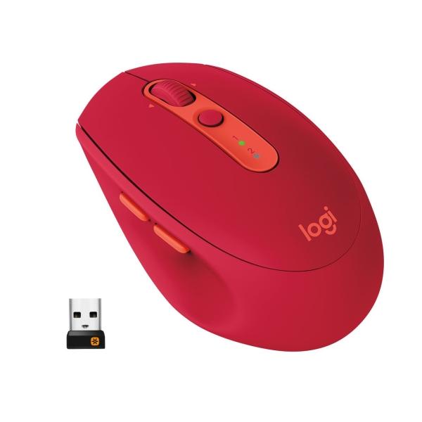 Мышь Bluetooth для ноутбука Logitech M590 (910-005199) мышь bluetooth для ноутбука logitech m590 910 005197