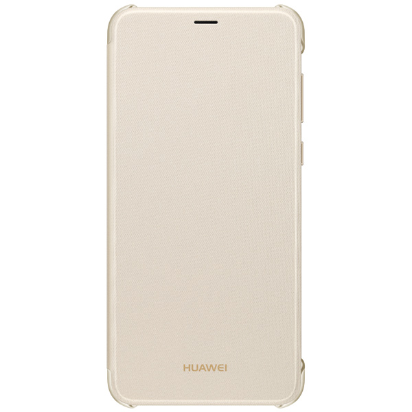 Чехол для сотового телефона Huawei P smart Flip Cover Gold (51992275) чехол для сотового телефона honor 6x smart cover gold