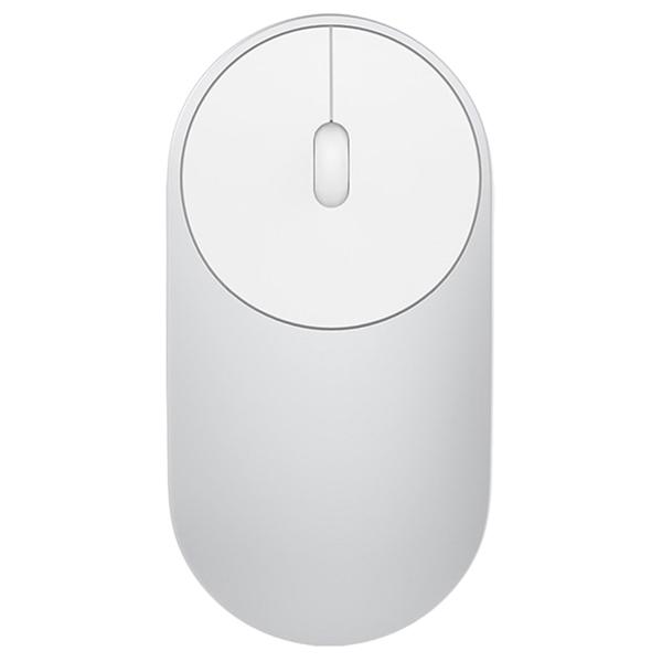 Мышь Bluetooth для ноутбука Xiaomi Mi Silver (XMSB02MW) mi мышей technology mimouse микрофон мышь умного голос голос мышь желтая технологии искусственного интеллекта мышь
