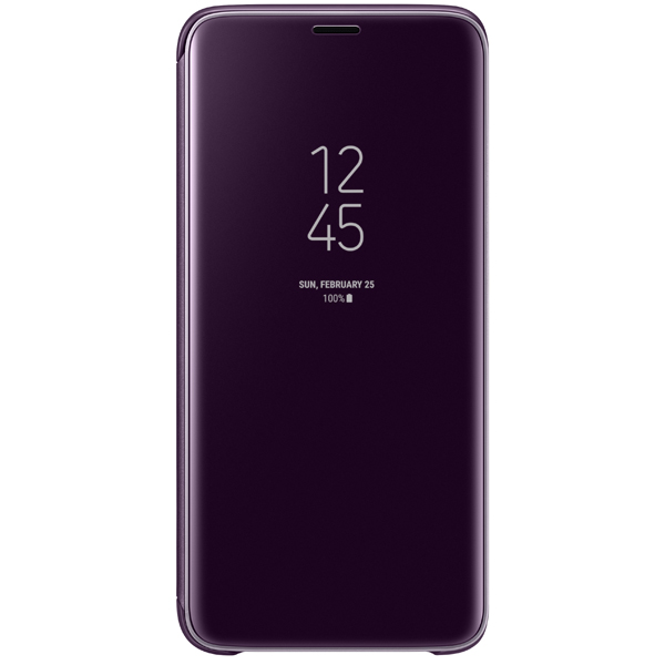 Чехол Samsung Clear View .Cover для  Galaxy S9, Or.Gray