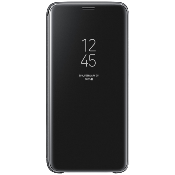 Чехол Samsung Clear View .Cover для  Galaxy S9, Black