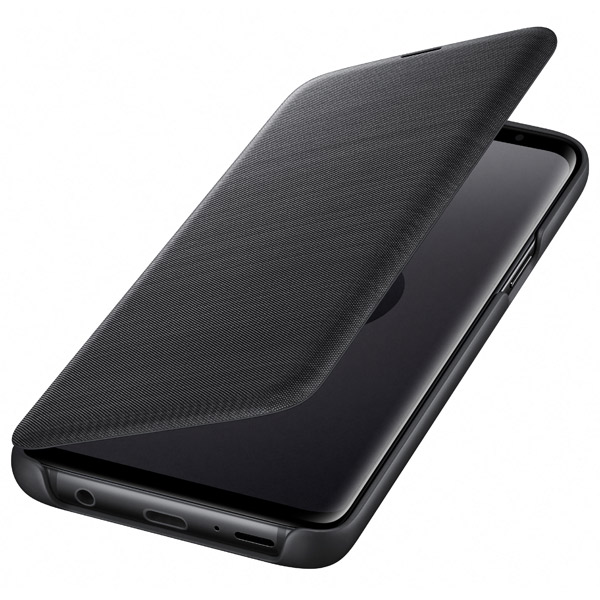 Чехол для сотового телефона Samsung LED View Cover для Samsung Galaxy S9, Black чехол для сотового телефона samsung galaxy s8 led view cover black ef ng955pbegru