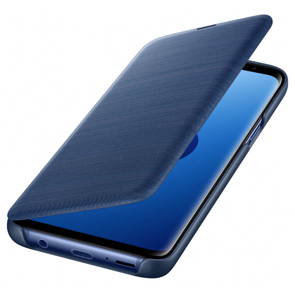 Чехол для сотового телефона Samsung LED View Cover для Samsung Galaxy S9, Blue чехол для сотового телефона samsung galaxy s8 led view blue ef ng955plegru