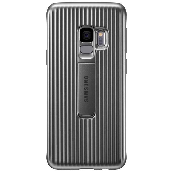 Чехол для сотового телефона Samsung Protective S.Cover для Samsung Galaxy S9, Silver чехол клип кейс samsung protective standing cover great для samsung galaxy note 8 темно синий [ef rn950cnegru]