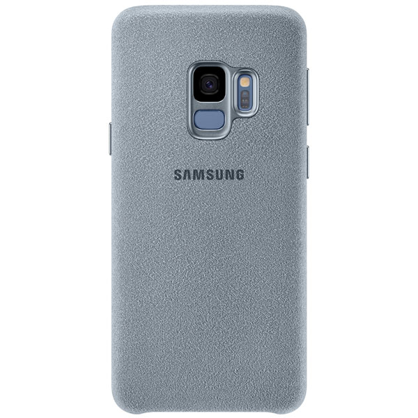 Чехол для сотового телефона Samsung Alcantara Cover для Samsung Galaxy S9, Mint чехол клип кейс samsung alcantara cover great для samsung galaxy note 8 хаки [ef xn950akegru]