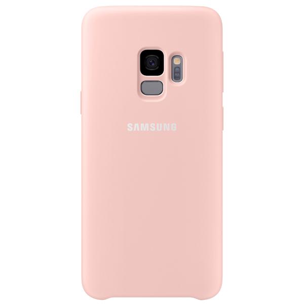 Чехол для сотового телефона Samsung Silicone Cover для Samsung Galaxy S9, Pink аксессуар чехол samsung galaxy a7 2017 with love moscow silicone russia 5090