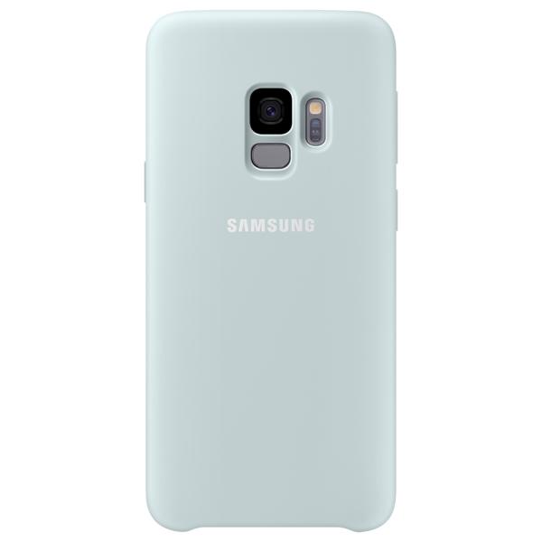 Чехол для сотового телефона Samsung Silicone Cover для Samsung Galaxy S9, Blue аксессуар чехол samsung galaxy a7 2017 with love moscow silicone russia 5090