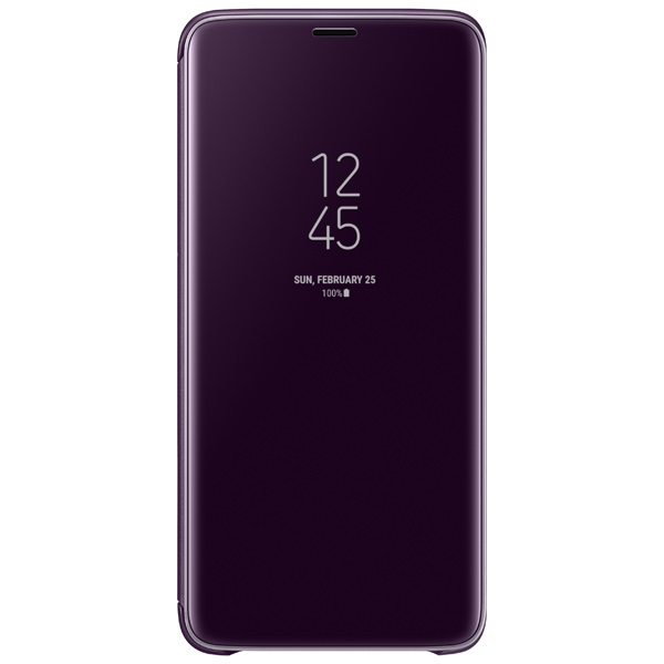 Чехол Samsung Clear View .Cover для  Galaxy S9+,Or.Gray