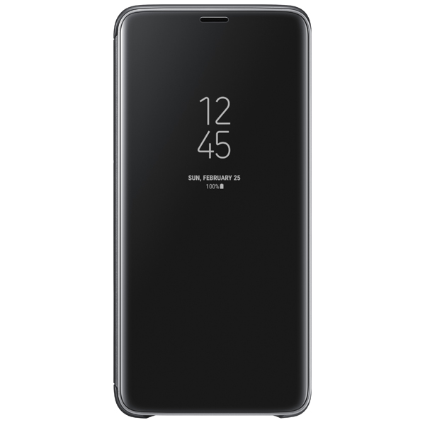 Чехол Samsung Clear View .Cover для  Galaxy S9+, Black