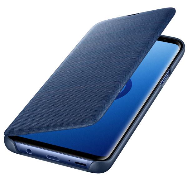 Чехол для сотового телефона Samsung LED View Cover для Samsung Galaxy S9+, Blue чехол для сотового телефона samsung clear view s cover для samsung galaxy s9 or gray