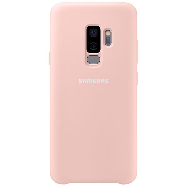 Чехол для сотового телефона Samsung Silicone Cover для Samsung Galaxy S9+, Pink аксессуар чехол samsung galaxy a7 2017 with love moscow silicone russia 5090