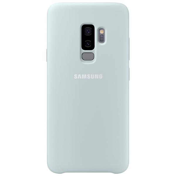 Чехол для сотового телефона Samsung Silicone Cover для Samsung Galaxy S9+, Blue аксессуар чехол samsung galaxy a7 2017 with love moscow silicone russia 5090