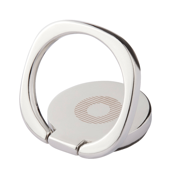 Кольцо-держатель для телефона InterStep Holder Ring Silver (DHLR00-000000-P0017O-K100)