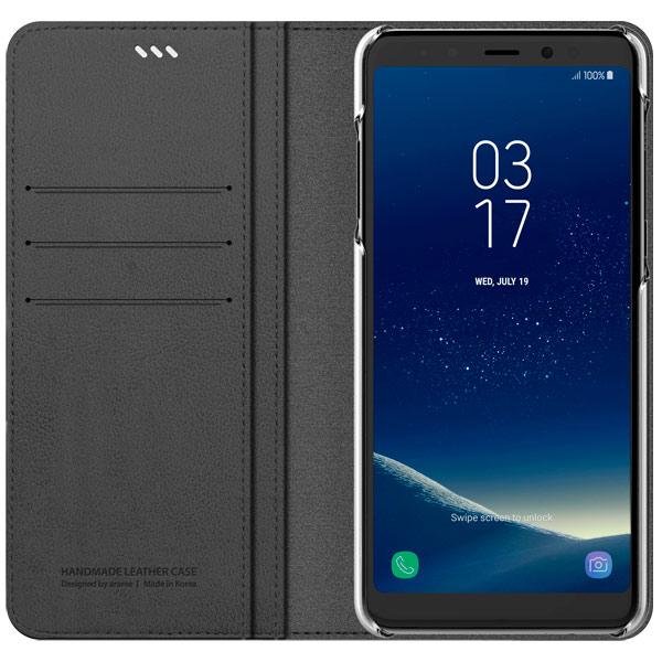 Чехол для сотового телефона Araree Mustang Diary для Samsung A8+ (2018) CharcoalGray diary