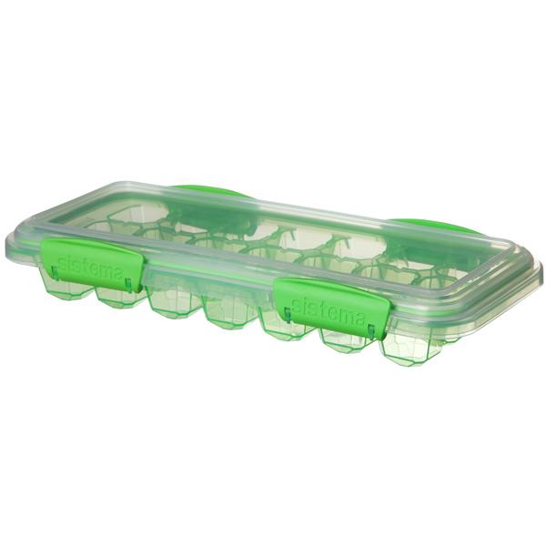 Контейнер для продуктов Sistema KLIP IT Ice Tray Accents Large Green (61448)