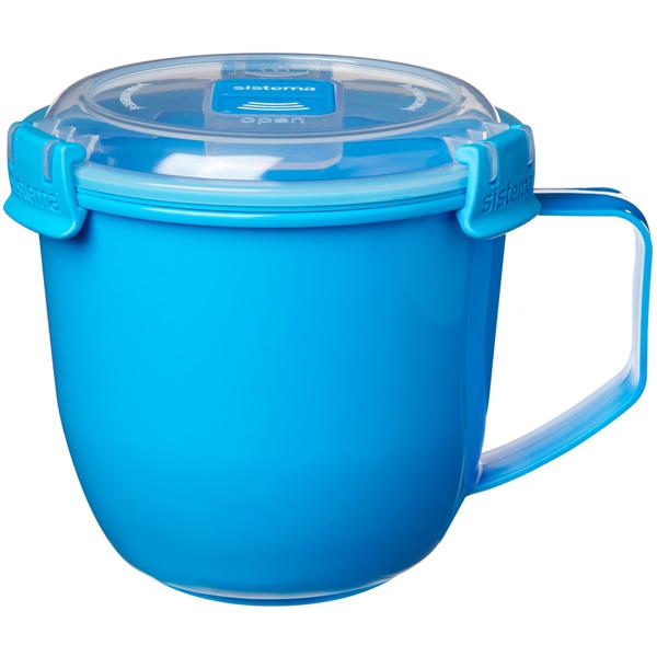 Контейнер для продуктов Sistema To-Go Soup Mug 900мл Blue (21141)