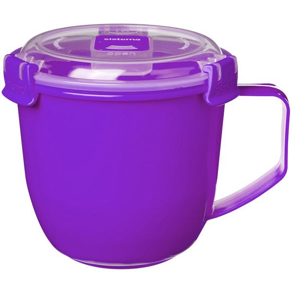 Контейнер для продуктов Sistema To-Go Soup Mug 900мл Violet (21141)