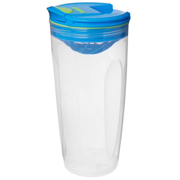 Контейнер для продуктов Sistema To-Go Shaker 700мл Blue (21378) go to bed blue