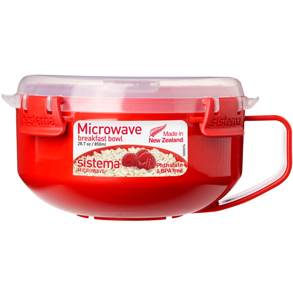 Контейнер для микроволновой печи Sistema Microwave Breakfast Bowl 850мл Red (1112) supertramp supertramp breakfast in america lp