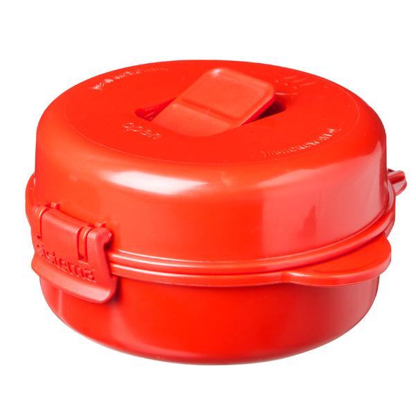 Контейнер для микроволновой печи Sistema Microwave Easy Eggs 271мл Red (1117)